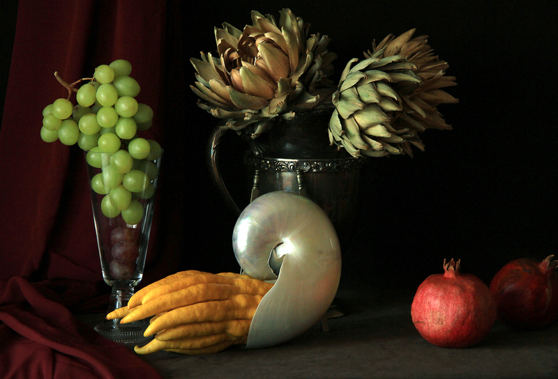 Still Life with Buddha's Hand Fruit